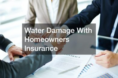 Water Damage  With Homeowners Insurance
